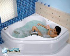 Buy best quality of #Jacuzzi #baths from Crystal Bathroom.