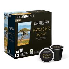 Laughing Man Dukale's Blend Coffee K-Cups (16 K-Cup Pods) -- Hurry! Check out this great item : K Cups