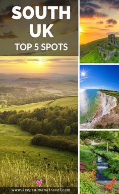 Check out the most amazing places to see in southern england, jaw dropping! england-south-coast-holidays-uk-top-spots-best-things-to-do-and-see Backpacking Europe, Europe Travel Guide, Travel Guides, Travel Deals, Spain Travel, Travel Hacks, Italy Travel, Europe Destinations, Romantic Vacations
