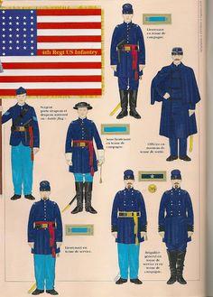 infanteria regular de la Union