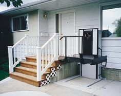 our vertical and inclined platform lifts provide and affordable solution when stairs become a barrier. Make your home more accessible.