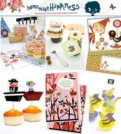 Op de website van Diana van Ewijk: Homemade Happiness vind je mooiste knipvellen en andere knutseltips voor thuis.