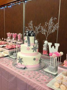 winter wonderland baby shower | Winter wonderland baby shower for girls