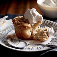 Apple Crumb Coffee Cakes #fall #DontForgetWhippedCream