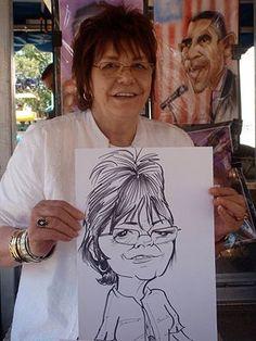 live caricature - Buscar con Google