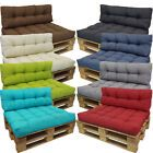 Pallet Sofa Cushions Waterproof Fabric Euro Pallet Size for Outdoor Garden Seats Garden Seat Cushions, Pallet Cushions, Sofa Seat Cushions, Pallet Lounge, Pallet Seating, Pallet Sofa, Sofa Seats, Outdoor Cushions, Coin Palette