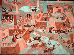 A Battle - Mogao Caves, China