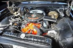 İmpala 67 Motor