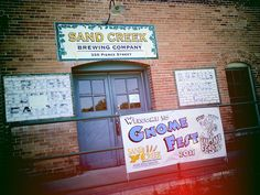 Sand Creek Brewing, Black River Falls, WI   [Gnome Fest, too]