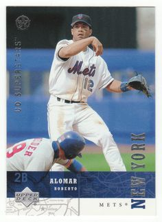 Roberto Alomar # 158 - 2002-03 Upper Deck Superstars Multi Sports Card - MLB Baseball