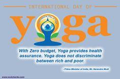 International Day of Yoga 21 June Yoga Day, Best Physique, International Day, Yoga Quotes, Yoga Benefits, Tai Chi, Asana, Yoga Meditation, Morning Quotes