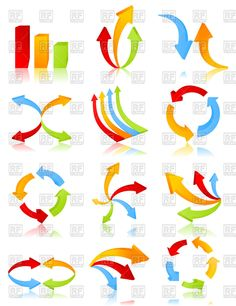 free colored arrows vector background pinterest free vector rh pinterest com free vector graphics download cdr file free vector graphics download for photoshop