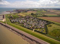 Luchtfoto van Camping Orisant in Colijnsplaat