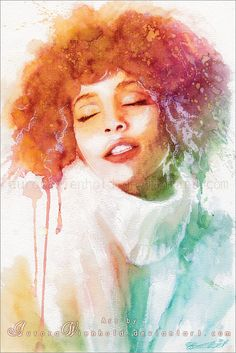 Whitney by =AuroraWienhold on deviantART #Art #CelebrityArt #WhitneyHouston