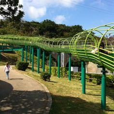 I LOVE Roller Slides.   (Urasoe, Okinawa)--- still gotta get on one!