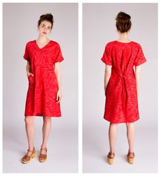 Well........ it's finally here! My latest pattern the Tea House Top And Dress is here! I can't believe it took this long but I'm so happy with it. This pattern