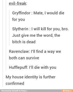 I'm a Slytherin
