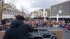 BTS: King's Day DJ Miguell Kaidel on stage