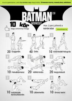 Batman Workout, Army Workout, Superhero Workout, Firefighter Workout, Gym Workout Tips, Workout Exercises, Abs Program, Workout Programs, Hero Workouts