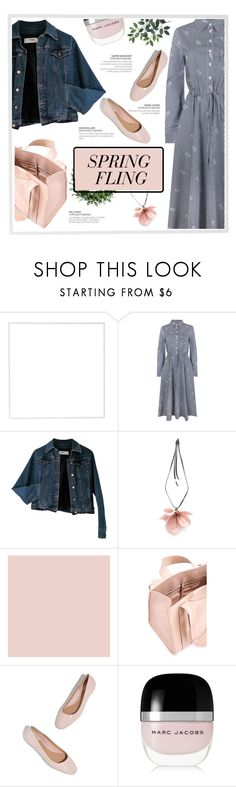 """""""Spring Trend 🌼"""" by ladydzsen ❤ liked on Polyvore featuring Menu, Jovonna, Moschino, Marni, Corto Moltedo, Marc Jacobs and springdresses"""