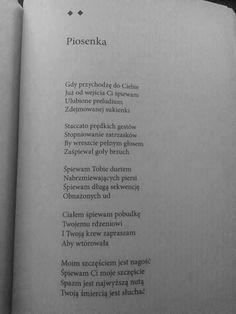 """Rafał Wojaczek """"Piosenka"""""""