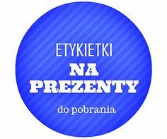 Etykietki na prezenty - DO POBRANIA - Creative Hobby Blog