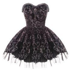 Hell Bunny Victorian Petal Dress