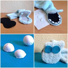 """The sock weeks - or - My own """"Old circus horse"""" - - Puppet Crafts, Sock Crafts, Fun Crafts, Crafts For Kids, Sock Puppets, Hand Puppets, Cactus Wall Art, Cactus Print, Puppets For Kids"""
