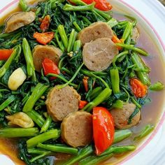 Spicy Recipes, Vegetarian Recipes, Cooking Recipes, Healthy Recipes, Cooking Ideas, Cooking Time, Healthy Food, Easy Sauce Recipe, Malay Food
