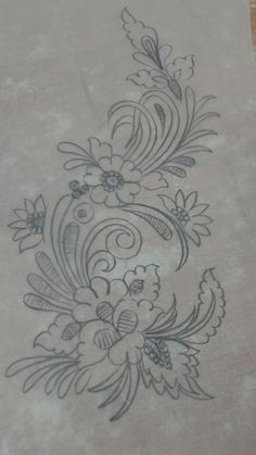Awesome Most Popular Embroidery Patterns Ideas. Most Popular Embroidery Patterns Ideas. Flower Applique Patterns, Floral Embroidery Patterns, Hand Embroidery Patterns, Machine Embroidery, Sewing Patterns, Tambour Embroidery, Ribbon Embroidery, Cross Stitch Embroidery, Motifs D'appliques