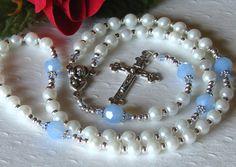 Boys Baptismal Rosary Christening, $32.00