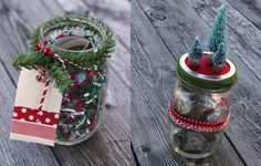 Christmas Mason Jar Craft Instructions