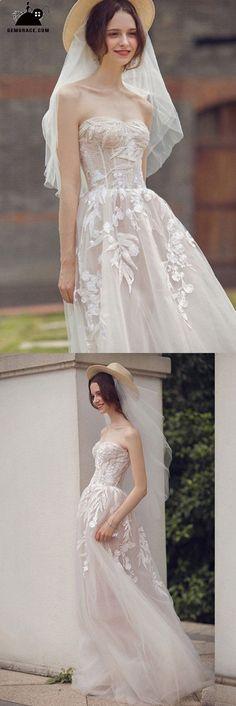 e21ea24da9 2018 Beach Wedding Dresses, Wedding Dresses for the Beach Wedding -  GemGrace. Bohemian Style DressesBoho ...