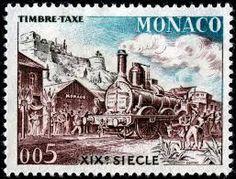 Monaco stamp