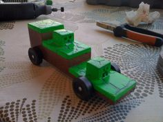 Post with 4933 views. My Pinewood Derby car this year, I think it turned out pretty good. Cub Scouts Wolf, Girl Scouts, Cub Scout Activities, Pinewood Derby Cars, Minecraft Birthday Party, Minecraft Crafts, Pretty Good, Kids Learning, Crafts For Kids