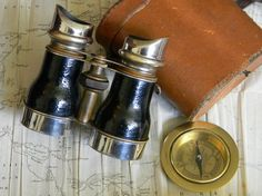 Outstanding Antique Binoculars Manufactured in by CuriosityShopper