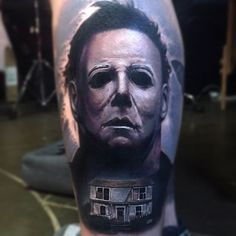 Mike Myers tattoo by PaulAcker
