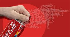 QR Codes offer an amazing shortcut from the offline to the online world. Learn how to use QR Codes to promote your business, website or brand Barcode Design, Qr Barcode, Street Marketing, Guerrilla Marketing, Coca Cola, Plakat Design, Web Design Agency, Paint Schemes, Mobile Marketing