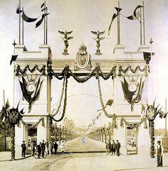 Arc de triumf pe bulevardul Independentei in anul cartierul Cotroceni Bucharest Romania, Arc, Fair Grounds, Memories, Memoirs, Souvenirs, Remember This