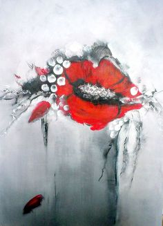 Abstract flowers Acrylic on canvas Canvas, Painting, Abstract Art, Art, Abstract, Abstract Flowers
