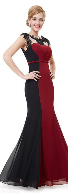 Ever Pretty 09996 Lacy Mermaid Evening Gown