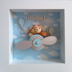 Pop Up Frame, Box Frames, Diy Paper, Paper Art, Celebration Box, Baby Mobile, Baby Box, New Baby Cards, Felt Dolls