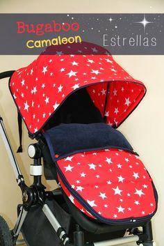 De Tijera Rapida: Conjunto de fundas para Bugaboo Camaleon con estampado de estrellas e interior de pana. Baby Strollers, Car Seats, Diys, Children, Interior, Templates, Shared Bedroom Girls, Red Fabric, Awesome Inventions