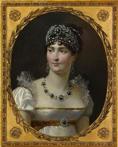 Portrait of the Empress Josephine.