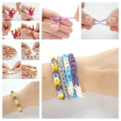 If you have not a rainbow loom, how to make a Rubber Band Bracelet ? The secret is CLOTHPIN ! :) Instructions--> http://wonderfuldiy.com/wonderful-diy-rubber-band-bracelet-with-clothespin/ http://wonderfuldiy.com/wonderful-diy-rubber-band-bracelet-with-clothespin/