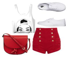 """""""Untitled #8"""" by dizdarevicnermina ❤ liked on Polyvore featuring Pierre Balmain, Vans and KC Jagger"""