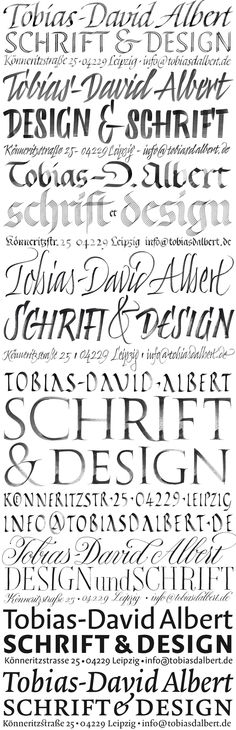 #type #lettering