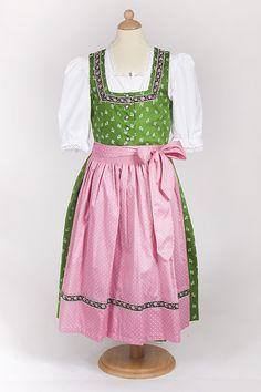 Kinderdirndl Laura baumwolle traditionell