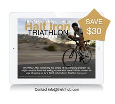 Doing an Ironman 70.3? Save $30 on a training plan by reaching out to…