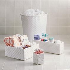 Strapping Desk & Bath Storage Collection
